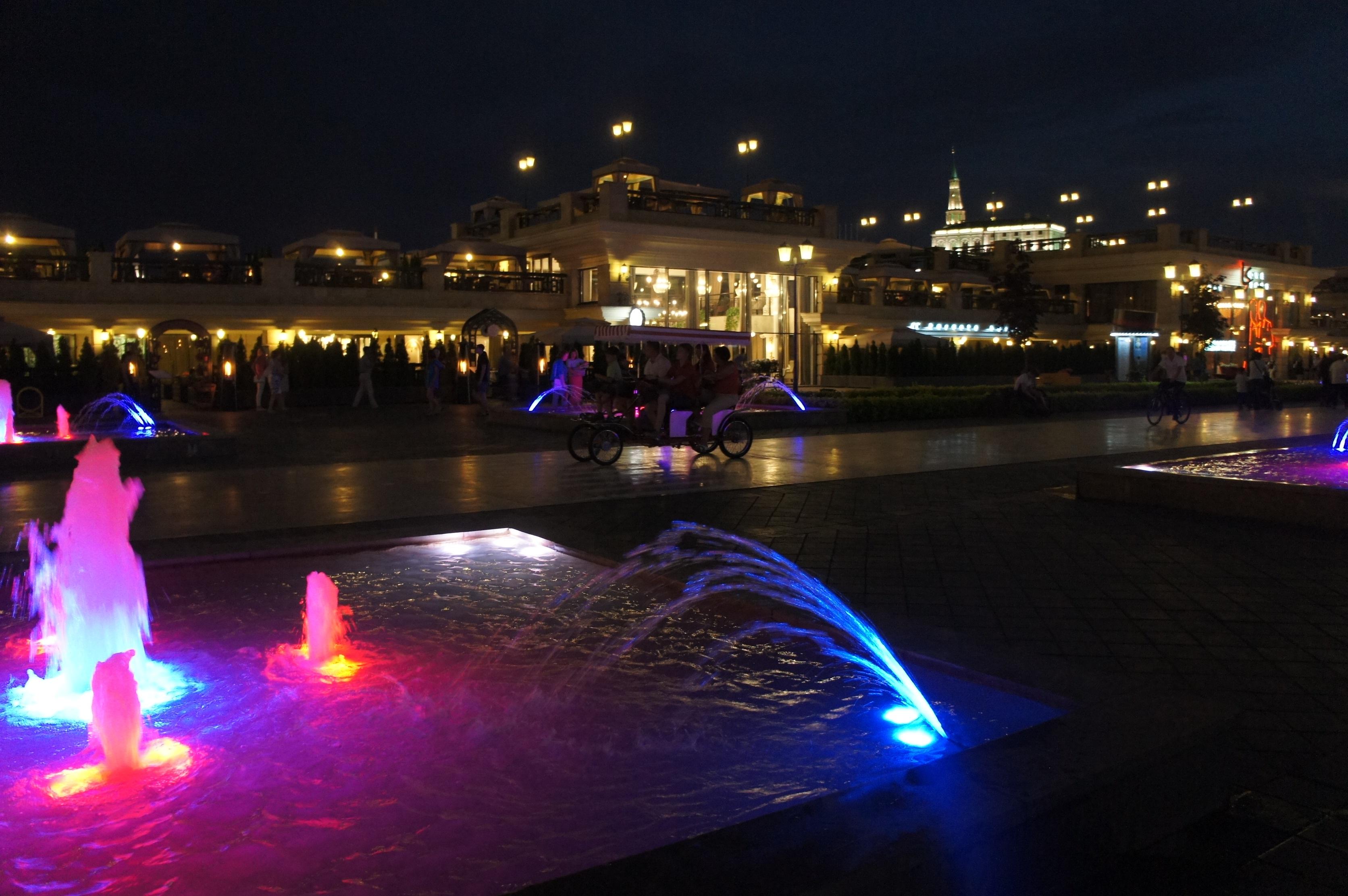 カザンカ川夜3