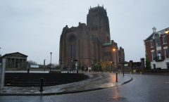 ~ To a hill next to the Liverpool tourism Liverpool Cathedral - Chinatown