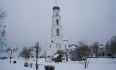In search of water of Kazan tourism - God to Raiffeisen monastery in the snow ① ~