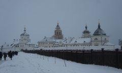 カザン観光 ~雪の中の世界文化遺産「スヴィヤシュスク」②~