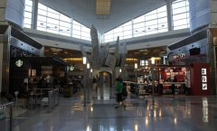 Orlando tourism - relay point Dallas Fort Worth Airport -