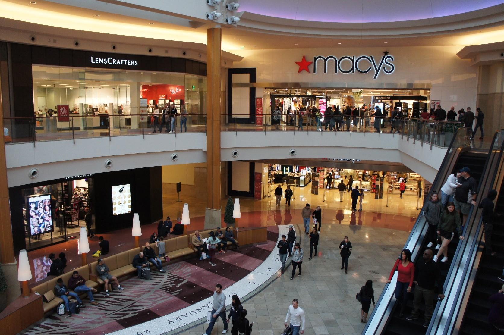 Orlando tourism to 4 large mall tour ③ Mall at Millenia