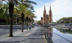 シドニー中心地の憩いの場 ハイドパーク&セントメアリー大聖堂