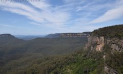 """The first installment attraction of Scenic World """"Skyway (Scenic Skyway)"""""""
