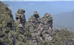 "Of the Blue Mountains to the large superb view ""Echo Point""!"