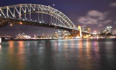 """從對岸俯瞰悉尼歌劇院""""Milsons點"""""""