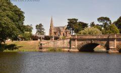 ロスのシンボル「ロス橋(Ross Bridge)」と「ロス統一教会(Ross Uniting Church)」 ~『ロス村』観光⑥~