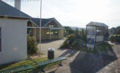 長距離バスに乗ってロス村(Ross Village)からデボンポート(Devonport)へ