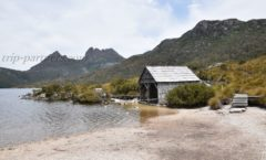 The sunny days per year less than 40 days? ! Cradle Mountain of miracle sunny tourism ①