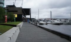 "Melbourne Waterfront Redevelopment Area ""Docklands""-Library at The Dock-"