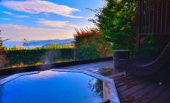 "High-class luxury inn ""Hotel Grand Bach Atami Crescendo"" ②-Room with open-air bath(Japanese-style twin)Introduction ~"