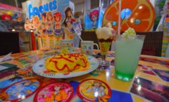 """lovelive! Sunshine! ︎ × Majestic SUN!SUN! I went to ""Sunshine Cafe"""